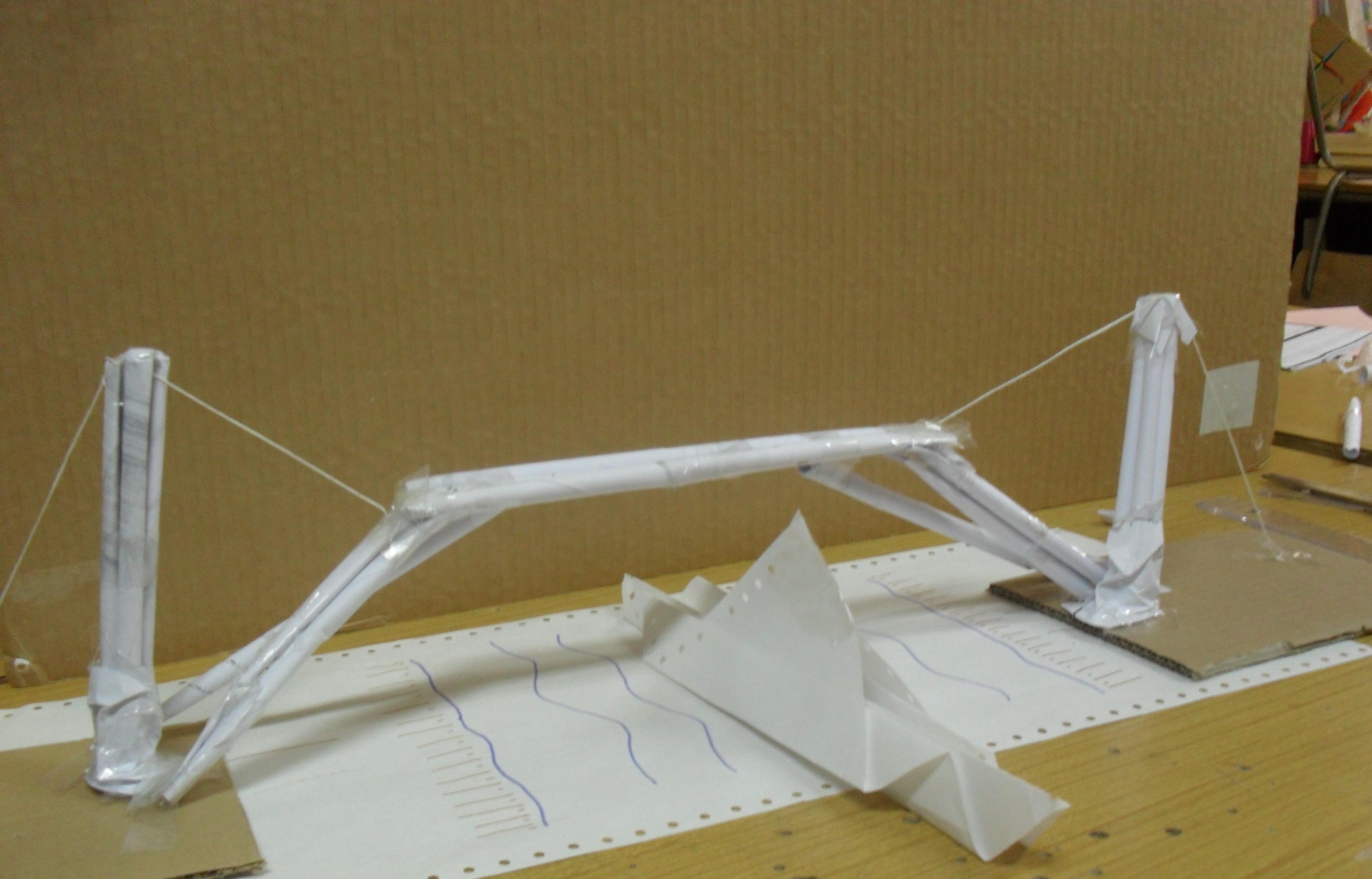 comment faire une maquette de pont en papier. Black Bedroom Furniture Sets. Home Design Ideas