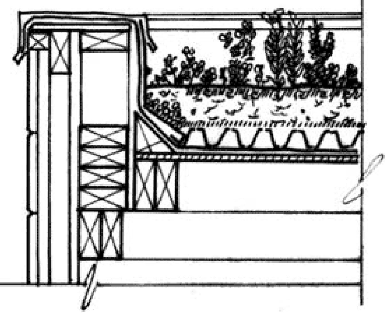 La toiture v g tale ecologis - Coupe toiture vegetalisee ...